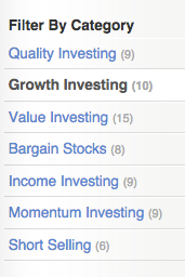 Stockopedia | Screening Strategies - From Value to Momentum